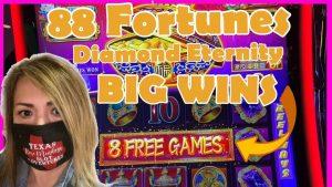 💎💰88 FORTUNES DIAMOND ETERNITY 💎💰large WINS KICKAPOO LUCKY EAGLE casino bonus