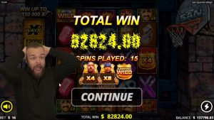 BIGGEST WIN EVER ON SAN QUENTIN XWAYS From Nolimit metropolis