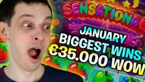 BIGGEST WINS of Jan 2021: MASSIVE Millionaire hitting!