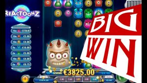 Biggest WIN on REACTOONZ online slot | Best wins of the calendar week casino bonus