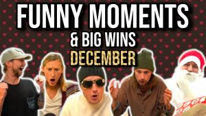 CASINODADDY FUNNY MOMENTS too large WINS OF Dec 2020