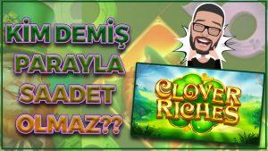 CLOVER RICHES PARA BABASI CİO #casino bonus #bigwin #slot