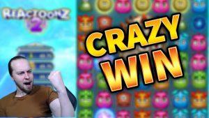 CRAZY WIN!!! Reactoonz 2 large Win – casino bonus Games from MrGambleSlots Live current