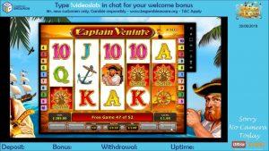 Captain Venture large Win | Novomatic | Videoslots casino bonus