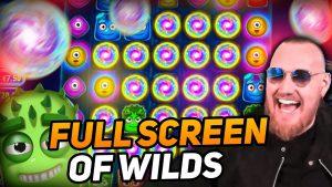 ClassyBeef total concealment of Wilds Win on Reactoonz slot – TOP 5 Biggest wins of the calendar week