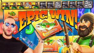 DEUCEACE Epic Win on large bass Bonanza Slot – TOP 5 Mega wins of the calendar week