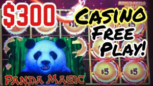 DRAGON LINK 💥 SLOT MACHINE | PANDA MAGIC – using $300 inwards casino bonus release play! Chasing a large WIN !!