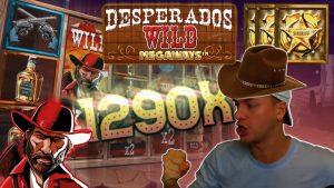 Desperados Megaways RETRIGGER – large WIN!