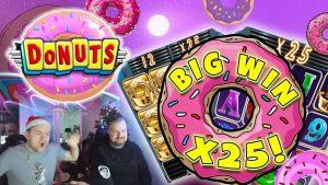 Donuts large WIN – Huge win on casino bonus Games – release spins (Online casino bonus)