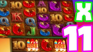 Extra Chilli 🌶️ Payed me a Super Mega large Win on this Insane €10 Bet 28 unloosen Spins OMG YES‼️