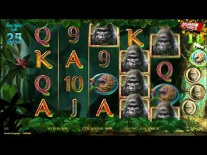 Gorilla Kingdom Slot – unloosen Spins large WINS!