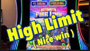 HIGH bound, ULTIMATE FIRELINK RETRIGGER BONUS .  #bigwin #casino bonus #slotmachines
