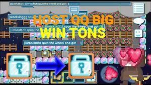 HOST QQ large! WIN TONS😮   Growtopia casino bonus