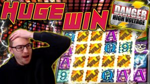 HUGE WIN on Danger High Voltage Slot – £20 Bet!
