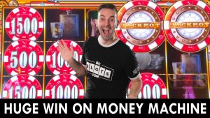 HUGE WIN on Unique Money Machine 💸 novel Slot Machine at Choctaw casino bonus Durant #advert