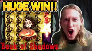 HUGE WIN!! volume OF SHADOW large WIN – casino bonus game from CasinoDaddy