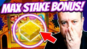 I tried MAX BET on Slots as well as I WON !!! (High Stakes large Win!)