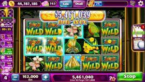 "JUNGLE WILD Video Slot casino bonus Game with a ""large WIN"" liberate SPIN BONUS"