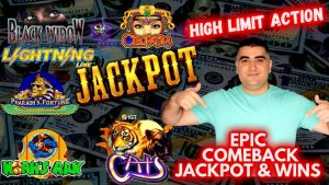 Jackpot & large Wins ! allow's adventure inward High bound Room At The Cosmo – EPIC COMEBACK! Live Slot JACKPOT
