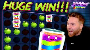 Jammin Jars EPIC large WIN on €10 BET!!