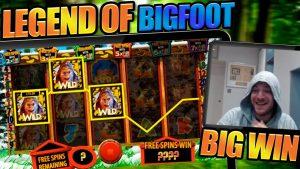 LONGEST BONUS EVER?! BIGFOOT DELIVERS large WIN!