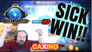 Lets Start the twelvemonth With a BANG!! Sick Win From Coils Of Cash!!