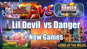 Lil Devil vs Danger Voltage High + כמה משחקים חדשים + קהילה גדולה WINS !!