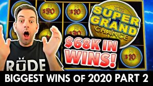MASSIVE WIN$ from 2020 😱 $68,000.00 inward JACKPOTS