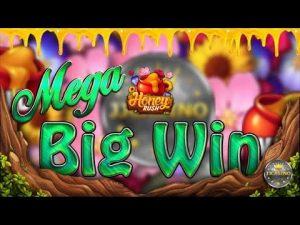 MEGA large WIN BEI HONEY RUSH (PLAY'N GO) – 5€ EINSATZ! || TWITCH current HIGHLIGHT