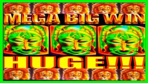 **MEGA large WIN!!!** LIONS FOR DAYS! manful individual monarch of Africa WMS Slot Machine Bonus