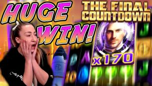 MEGA large WIN on The Final Countdown!