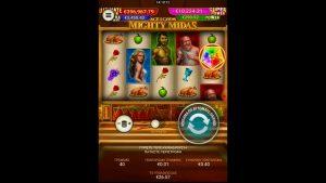 Mighty Midas 🎰 large win casino bonus Online #SlotsGreece #MightyMidas #bigwin #+18