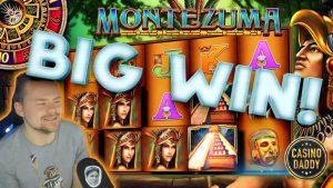 Montezuma large Win – Online slots – casino bonus Game from CasinoDaddy