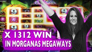 Morgana Megaways Slot large WIN! Online casino bonus 2021 / Twitch Highlights