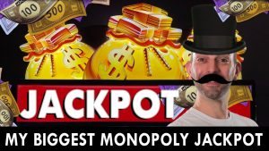 🎩 My BIGGEST Monopoly Jackpot EVER!