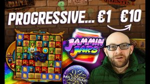 Online Slots – Progressive Bonus Hunt €1 – €10 – large Win?