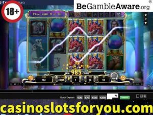 Online casino bonus Slots, ascent of Merlin, large WIn Bonus