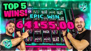 Our TOP 5 BIGGEST in addition to most INSANE large WINS on CHAOS CREW Slot.