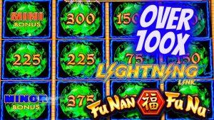 Over 100x large Win On Lightning Link Slot Machine ! Live Slot Play At casino bonus