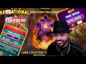 Roshtein Mistakenly Buys a €43.000 Bonus & Jay's Insane €88.000 Win on Rosh Immortality Cube