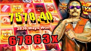 SAN QUENTIN xWAYS SLOT – 67863x tape WIN!