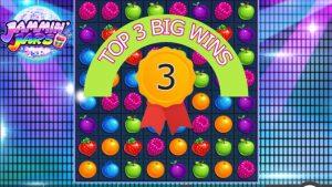 SLOT JAMMIN JARS large WINS!!! BEST ONLINE casino bonus WINS