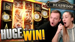 SUPER large WIN on Deadwood