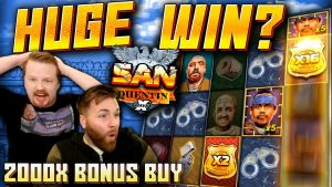 SUPER large WIN on San Quentin xWays! (2000x Bonus purchase)