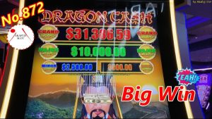 Slot Win component 1/2 – large Win✨ Dragon Cash – Golden Century Slot Machine 50c/$12.50 赤富士スロット