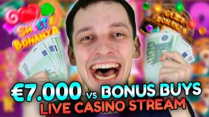 Slots BONUS BUYS SPECIAL – Live casino bonus current with mrBigSpin!