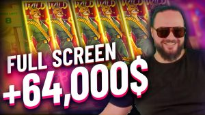 Streamer total cover of Wilds Monster Win on Fe Bank slot – TOP 5 Biggest wins of the calendar week