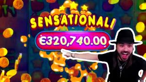 TOP 10 Biggest Wins of the calendar week – Roshtein €325K WIN on Fruit political party slot!