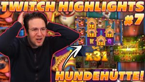 TWITCH HIGHLIGHTS #7 – WILDLINE on LEPRECHAUN GOES WILD? large WIN on THE Canis familiaris HOUSE!