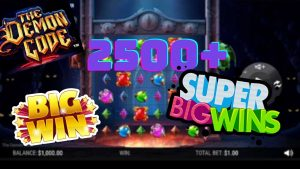 The Demon Code Slot SUPER large WIN x144 Multiplier